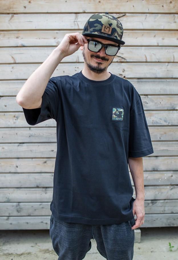 "Koszulka ""camo stamp"" czarna"