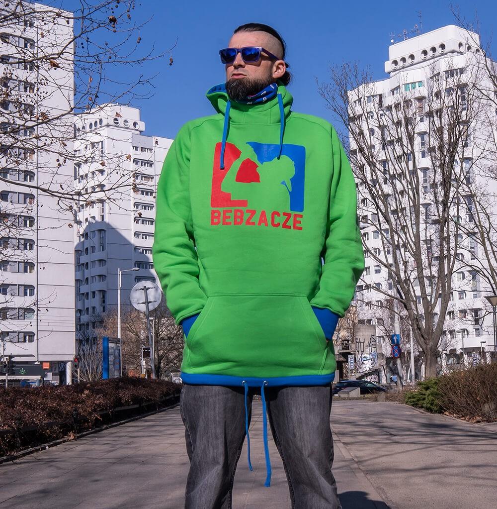 Bluza Bebzacze Fresh Green [Long hoodie]