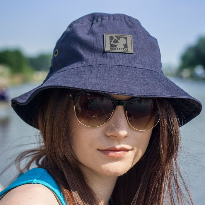 Bucket Hat Bebzaczki Dark Blue