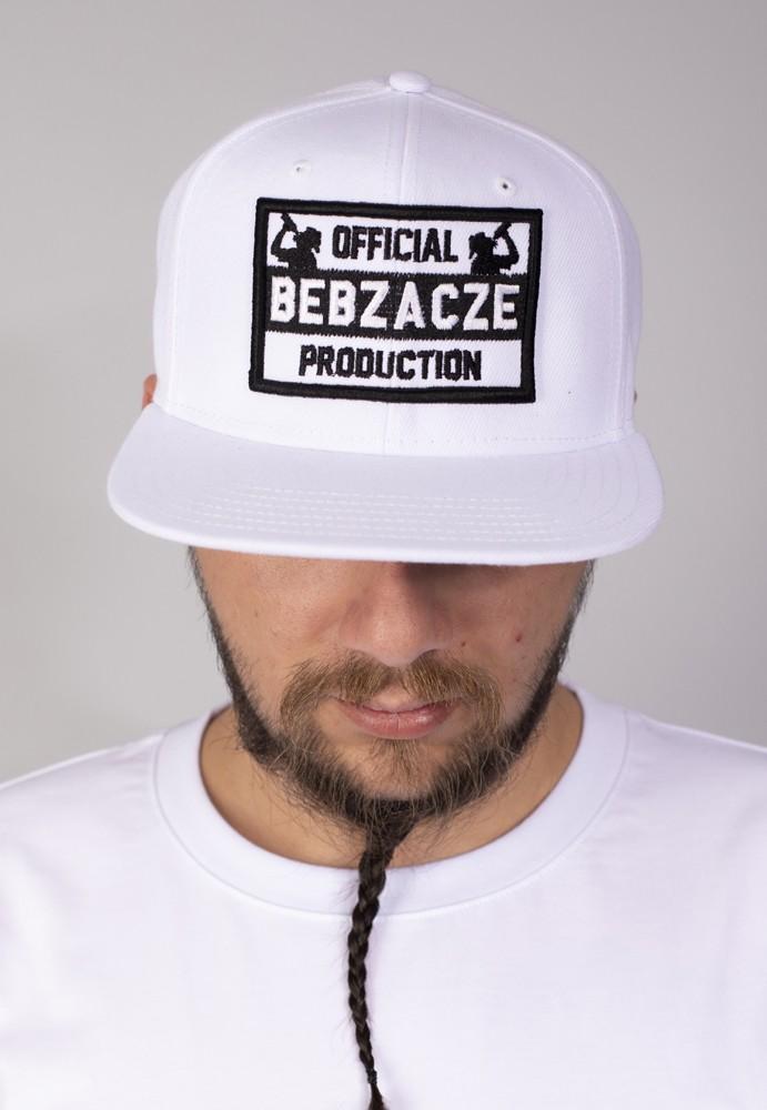 Snapback OBP black on white