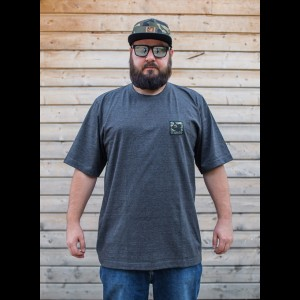 "Koszulka ""CAMO STAMP"" DARK MELANGE"