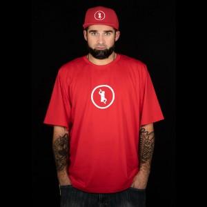 "Koszulka ""Double-B"" czerwona"