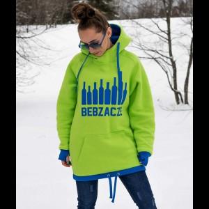 Bluza Bebzacze Bottletude damska [Long hoodie]
