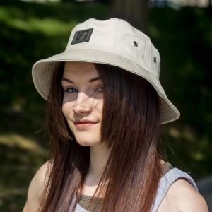 Bucket Hat Bebzaczki Jasny Beż