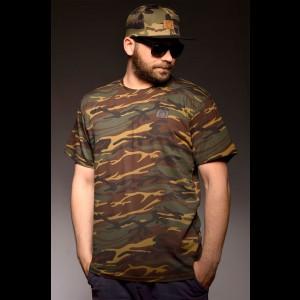 "Męska koszulka ""Camo VIP"" dark"
