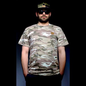 "Męska koszulka ""Camo VIP"" soft"