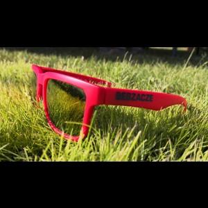 Okulary przeciwsłoneczne czerwone