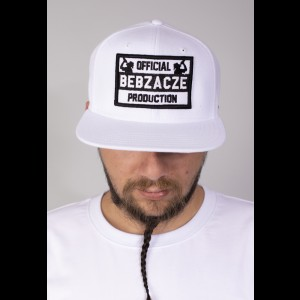 Snapback OBP black on white