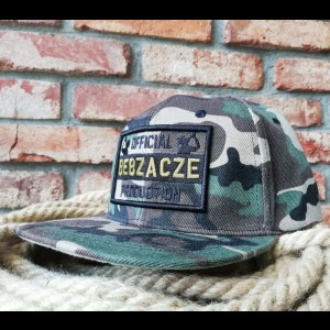 Snapback OBP khaki on camo