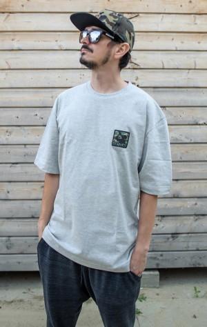 "Koszulka ""camo stamp"" soft melange"