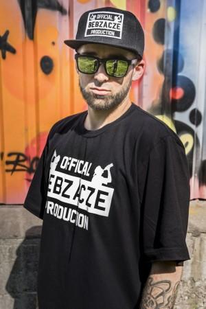 Zestaw OBP: Koszulka czarna  + Snapback czarny
